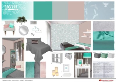 Create a concept board for your interior design by Toduno
