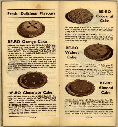 Be-Ro Home Recipes: Scones, Cakes, Pastry, Puddings – A 1923 Cookbook Primer