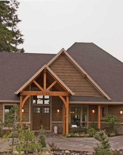 Cliffwood Trail Lodge Home Plan 011S-0001 | House Plans and More