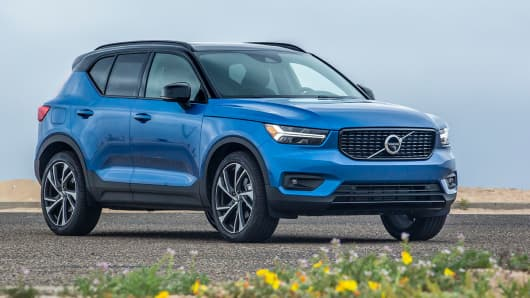 Kelley Blue Book names Volvo XC40 SUV the Best New Model for 2019