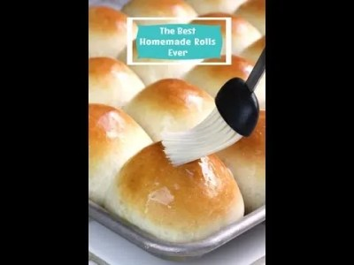 How to Make the Best Homemade Rolls Ever! - Food Fanatic