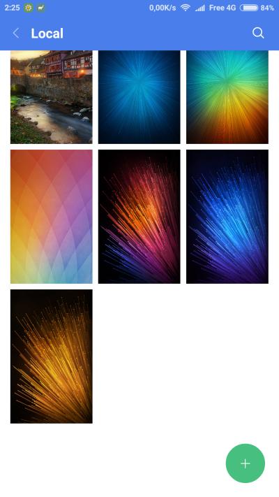 MIUI et Live Wallpaper (fond d'écran animé) - Smartphones - Xiaomi - Xiaomi RedMi Note 3 Pro ...