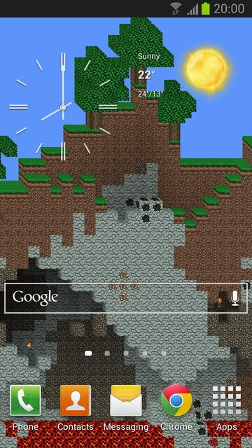 Minecraft live wallper for Android - Android Forums at AndroidCentral.com