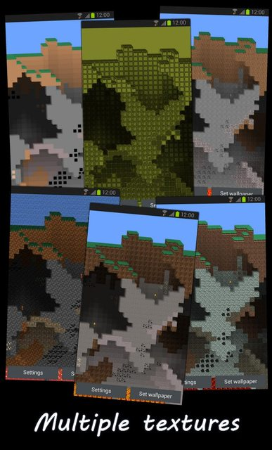 Minecraft live wallper for Android - Android Forums at AndroidCentral.com