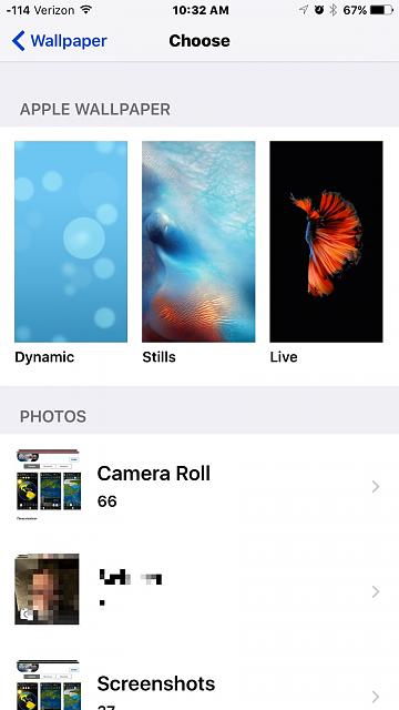 Live Wallpapers not working. - iPhone, iPad, iPod Forums at iMore.com