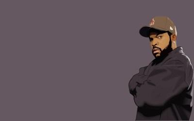 Minimalistic Hip Hop Rap Ice Cube Singer Rapper HD wallpaper