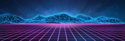 Synthwave 4K wallpaper