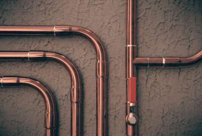 Copper Piping HD wallpaper