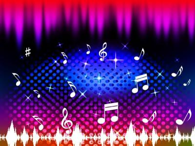 Get Free Stock Photos of Music Background Means Singing Dancing Or Melody Online | Download ...