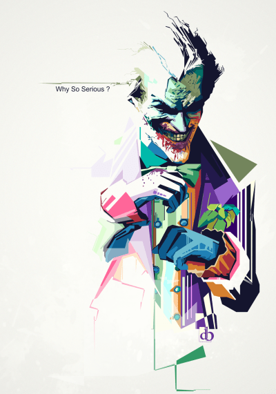 Why So Serious - Digital Art - Fribly