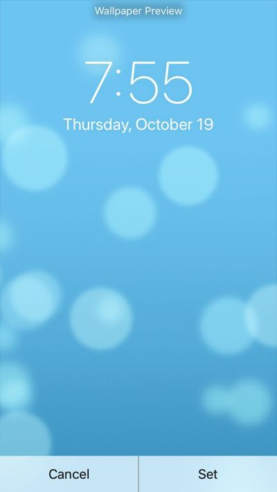 How to Change the Wallpaper on your iPhone