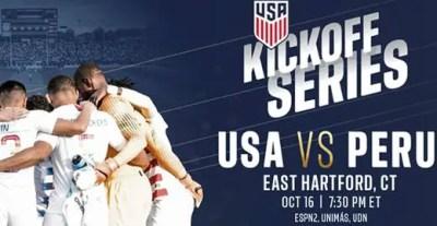 Resultado: Estados Unidos vs Perú [Vídeo Resumen- Goles] Amistoso Octubre 2018