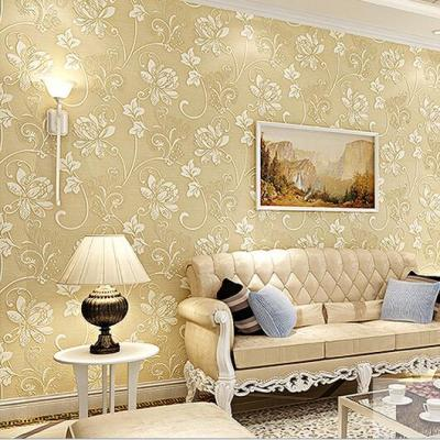 Aliexpress.com : Buy Luxury Europe Home Decor Thicken Wallpaper 3D Durable Non woven Wallpapers ...