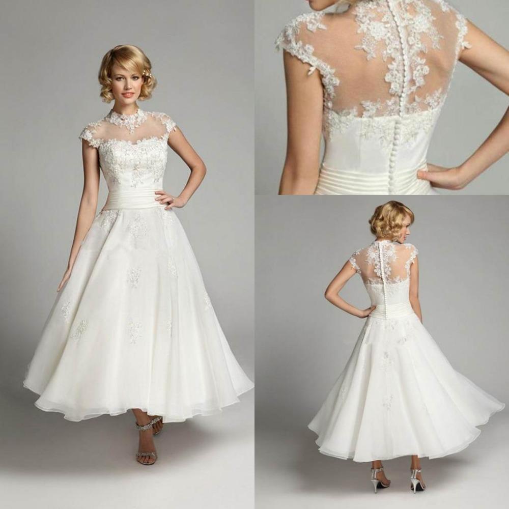 tea length wedding dresses vintage tea length wedding dress Tea Length Wedding Dresses Vintage 65