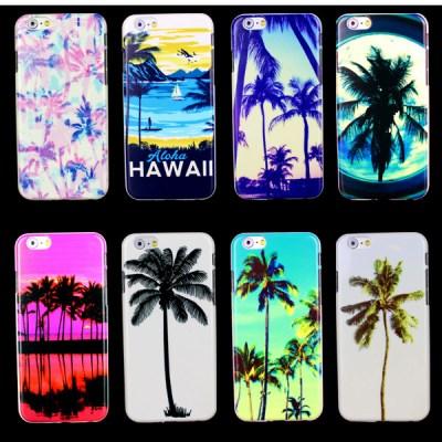 Hawaii Palm tree Beach Sunset Phone Case for iPhone 6 Plus Case for iphone 6 Plus Case-in Phone ...