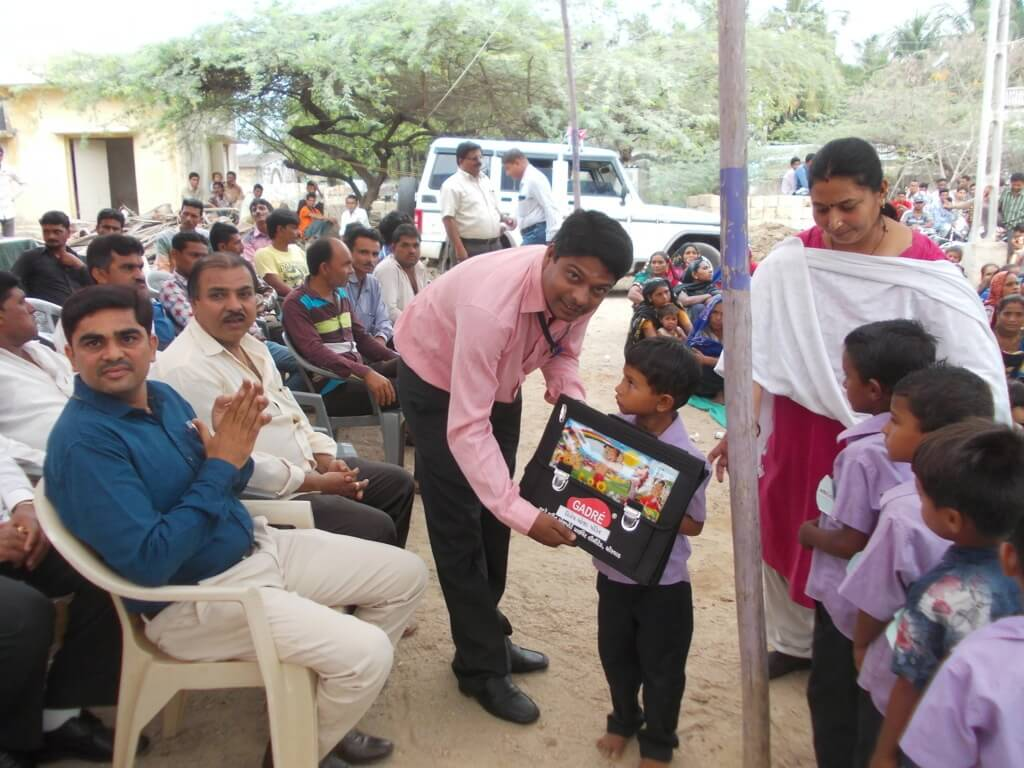 School Bag Distribution Program