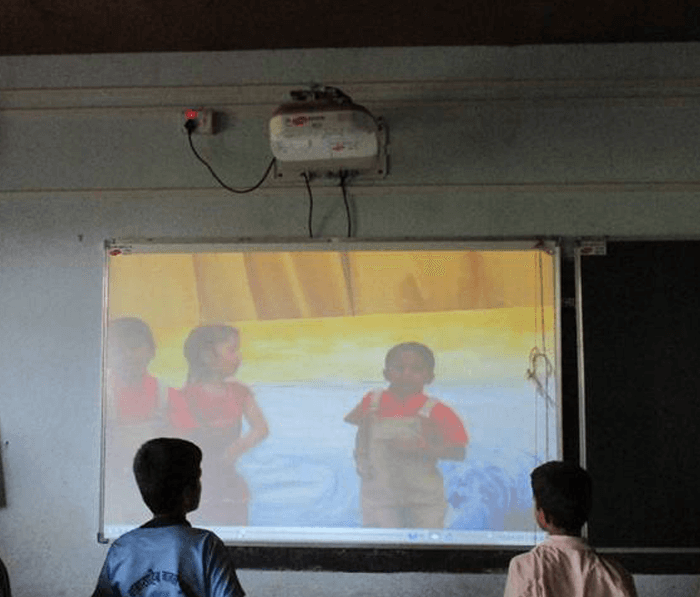 Elearning projector