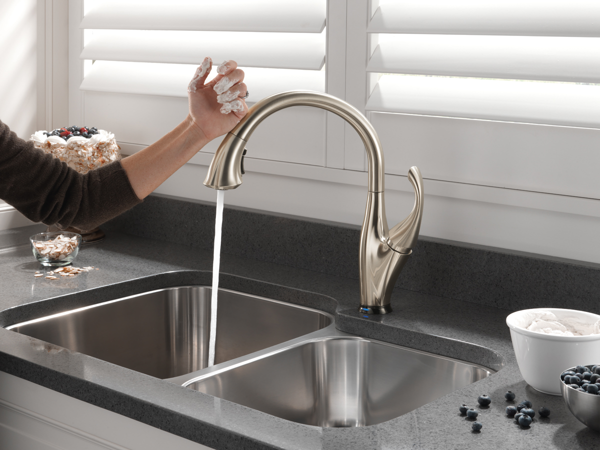 which brand is the best for touchless kitchen faucet touchless kitchen faucet