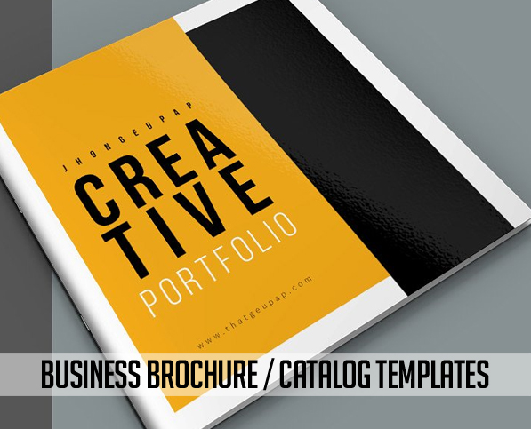 New Brochure Templates Catalog Design   Design   Graphic Design Junction 20 New Business Brochure Templates Design