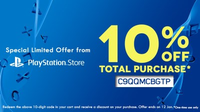 PlayStation Asia Is Offering 10% Discount Code To Celebrate New Year, Valid Till Jan 12th