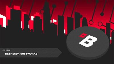 Bethesda E3 2016 press conference live stream - Gematsu