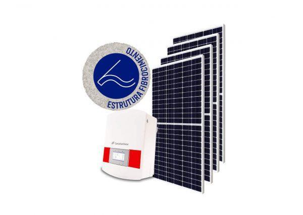 Inversor solar fotovoltaico Canadian Modulo fotovoltaico SUNOVA Stringbox Clamper Estrutura Solar Group Fibrocimento