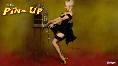 classic pin-up | George Spigot's Blog