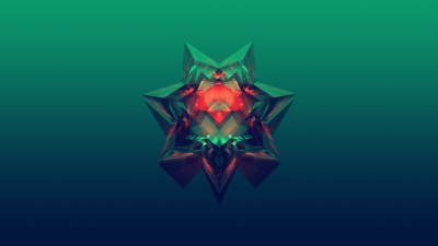 Wallpaper : abstract, Facets, Justin Maller, gradient, digital art, simple background 1920x1080 ...