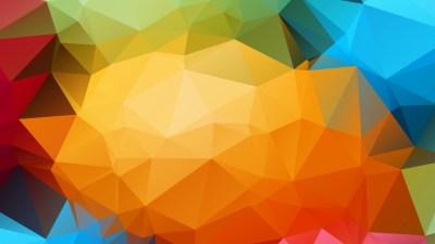 Hình nền : Đầy màu sắc, hình minh họa, nghệ thuật số, trừu tượng, Thấp nhiều, Đối xứng, màu vàng ...