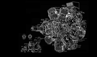 Wallpaper : illustration, airplane, gears, engines, sketches, engineering, turbine, schematic ...