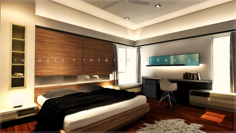 Parkland Home Bedroom 3D Interior Design Klang – GetIDonline