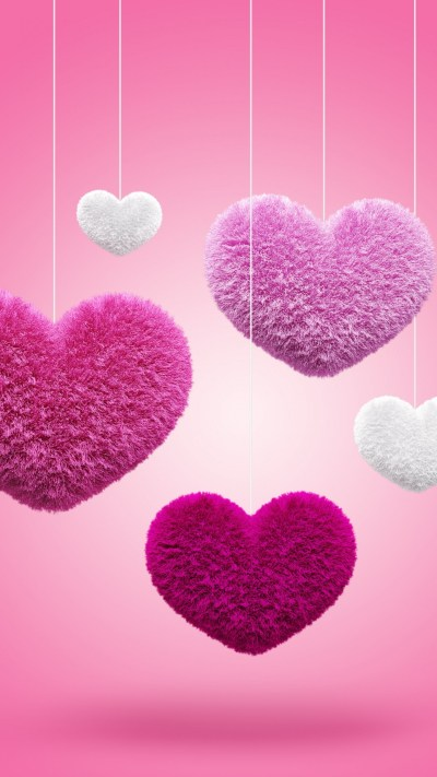 Pink Heart Wallpaper (75+ images)