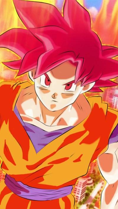 Super Saiyan God Goku Wallpaper (71+ images)