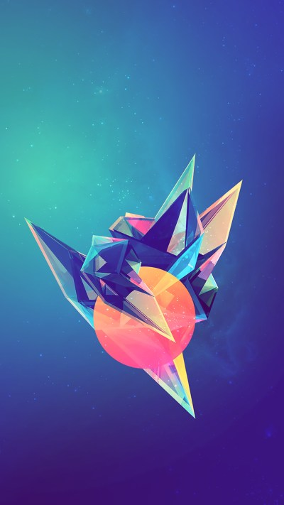 Abstract Geometric Wallpapers (75+ images)