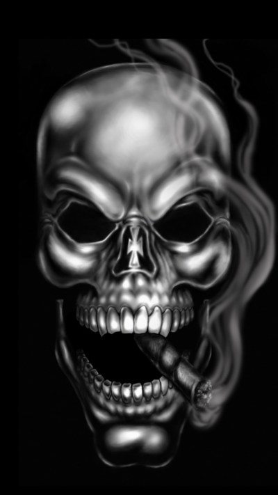 Skull Wallpaper for iPhone (67+ images)