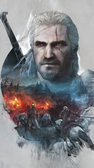 Witcher Wallpapers Iphone - impremedia.net
