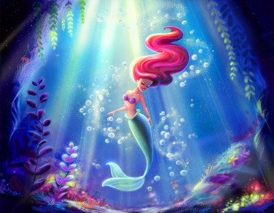 The Little Mermaid Wallpapers (60+ images)