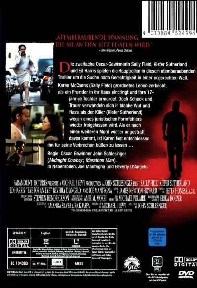 Eye for an Eye - Auge um Auge: DVD oder Blu-ray leihen ...