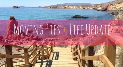 Moving Tips + Life Update