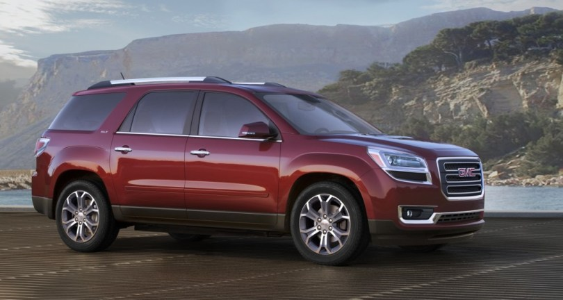 2015 GMC Acadia Changes And Updates   GM Authority