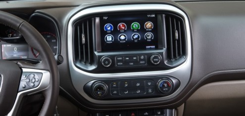 GMC Android Auto Update Coming   GM Authority 2015 GMC Canyon SLE