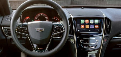 2016 Cadillac Models To Receive Updated CUE   GM Authority 2016 Cadillac Apple CarPlay Support