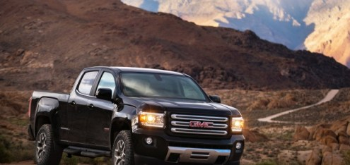 GMC Canyon AT4 Different From Colorado ZR2   GM Authority 2017 GMC Canyon All Terrain X 01
