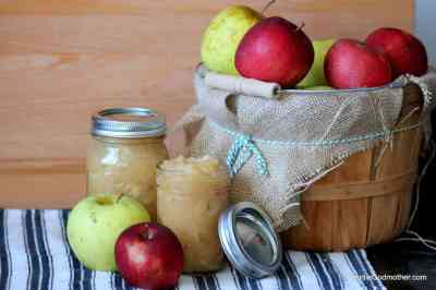 Crock-Pot Applesauce (No Sugar Added) - Goodie Godmother - A Recipe and Lifestyle Blog