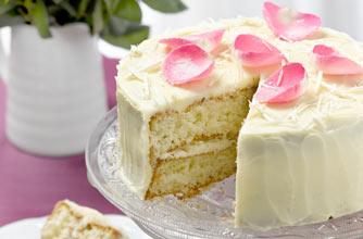 White chocolate cake recipe - goodtoknow