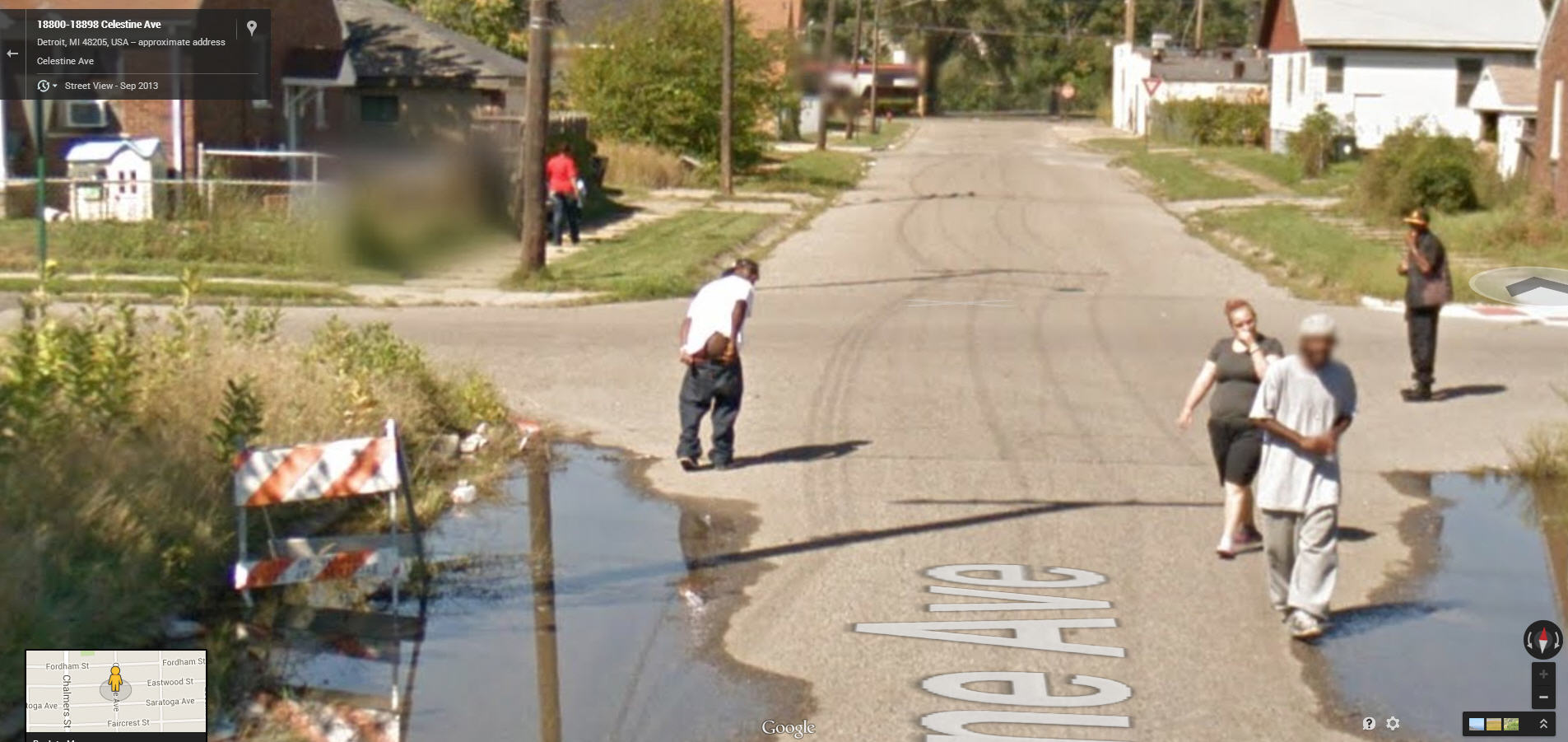 Why not Moon Google Street View   Google Street View World   Funny     Why not Moon Google Street View