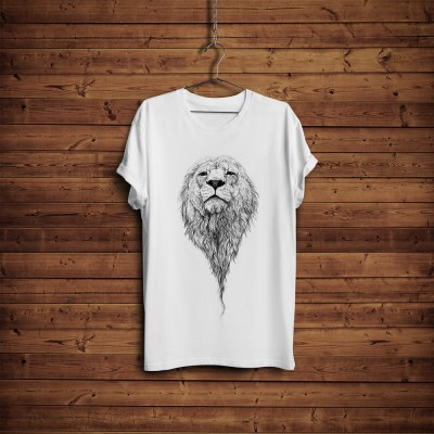 Free T-Shirt Mock-up with Hanger & Wooden BackgroundGraphic Google – Tasty Graphic Designs ...