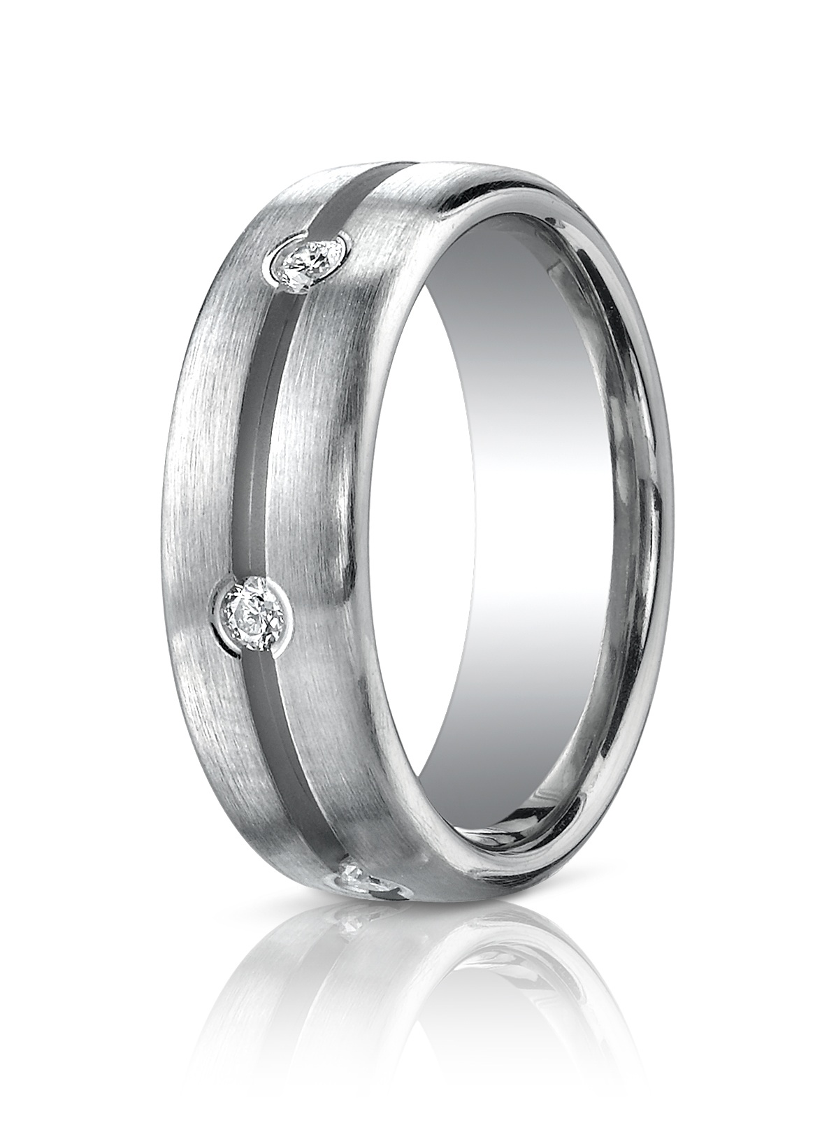 4 platinum wedding band Benchmark Platinum wedding band by Benchmark