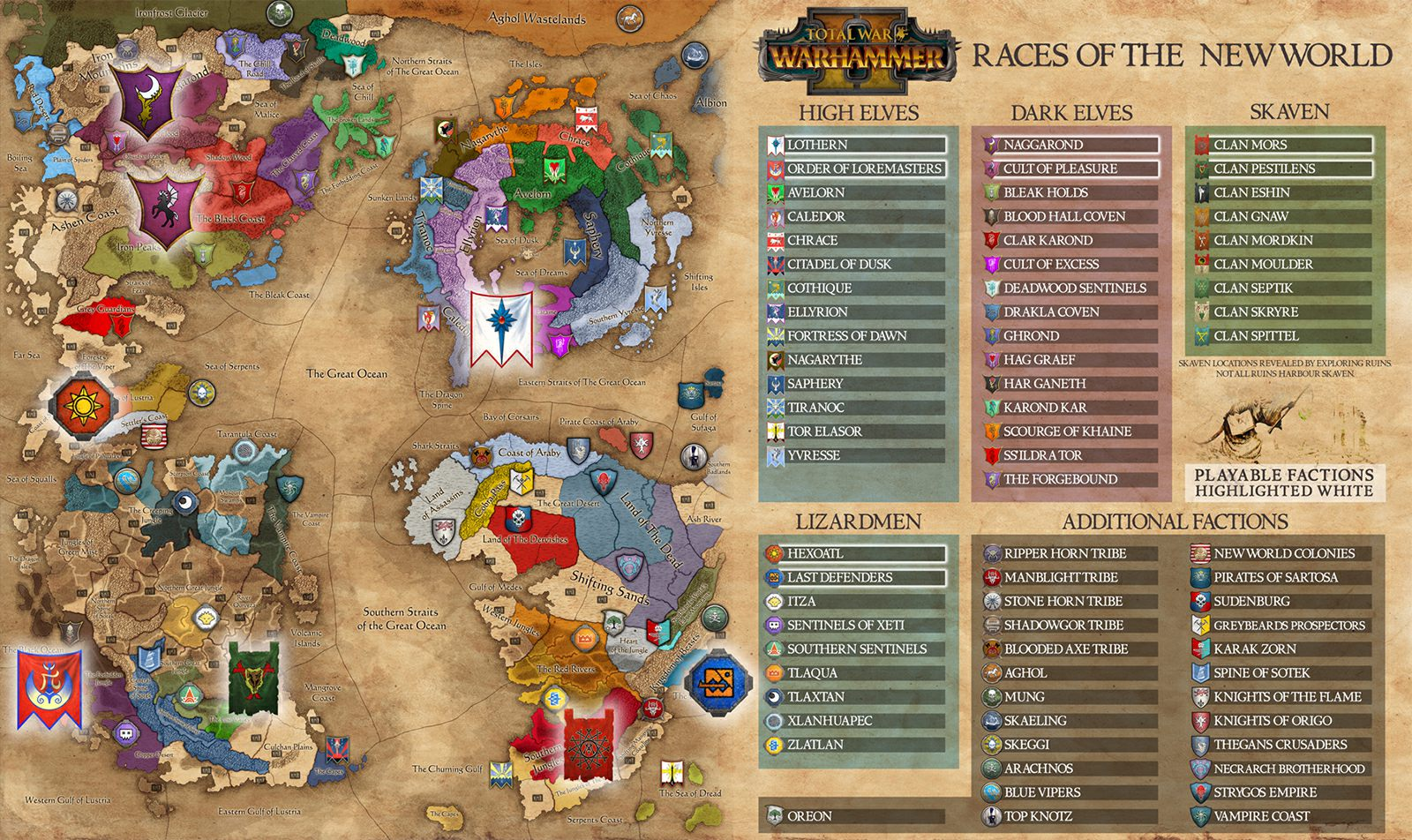 Campaign Map   The Basics   Total War  Warhammer II Game Guide     Total War  Warhammer II   Campaign map