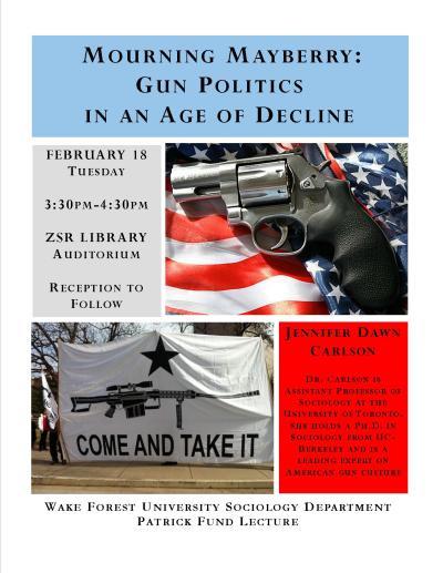 Jennifer Dawn Carlson on Gun Politics in America | DAVID YAMANE